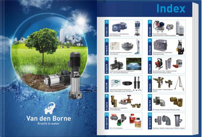 Van den Borne groothandel leverancier watertechniek