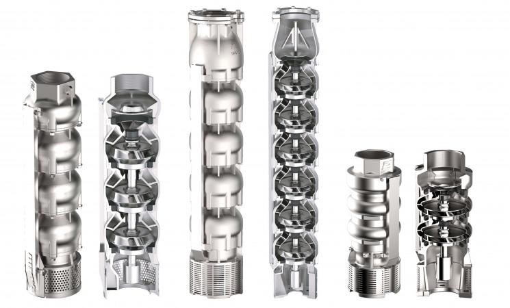 Panelli losse hydraulische delen - Van den Borne